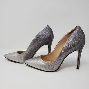 Jessica Simpson Silver Ombre Grey Pumps size 6